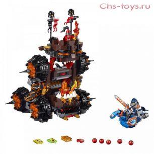 "Конструктор Bela Nexo Knights ""Осадная башня генерала Магмара"" 10518 (аналог Lego Nexo Knights 70321) 531 дет."