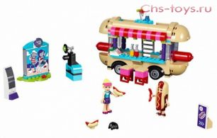 "Конструктор Bela Friends ""Парк развлечений: фургон с хот-догами"" 10559 (аналог LEGO Friends 41129) 249 дет."
