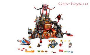 "Конструктор S Nick Knights ""Вулканическое логово Джестро"" SY801 (аналог Lego Nexo Knights 70323) 989 дет."