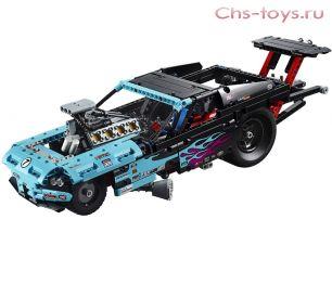 Конструктор LELE Technology Драгстер (Реплика Lego Technic 42050) 647 дет.