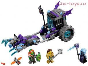 Конструктор BELA Nexo Knights Мобильная тюрьма Руины 10591 (Аналог LEGO Nexo Knights 70349) 224 дет.