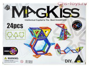 Магнитный конструктор Magkiss 24 детали