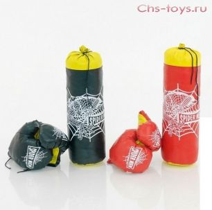 Боксерская груша+перчатки Full Contact, маленькая.