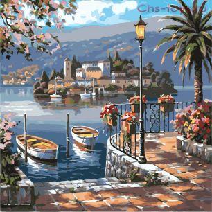 Картина по номерам Морской пейзаж R-0101