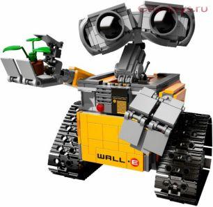 Конструктор LEPIN Woll E Валл-и 16003 (Аналог LEGO Ideas 21303) 687 дет