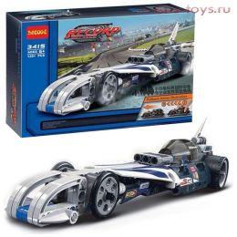 Конструктор Decool Technic Рекордсмен 3415 (Аналог LEGO Technic 42033) 125 дет